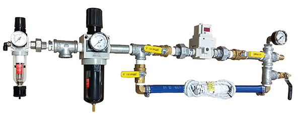 Filter Press Pump Transducer Manifold