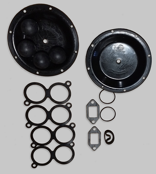 Air Diaphragm Wet End Kit